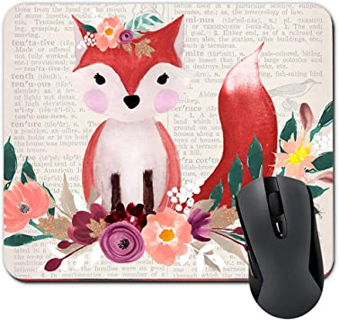 Art Watercolor Floral Computer Mouse Pad Rectangle Home Decor Designer Mousepads Office Decor Mouse Pad Gaming Great Gift Idea Mouse Pad