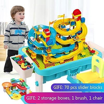 Bloques de construcción para niños, bloques de rompecabezas sensoriales 3 en 1 multipropósito: Hogar