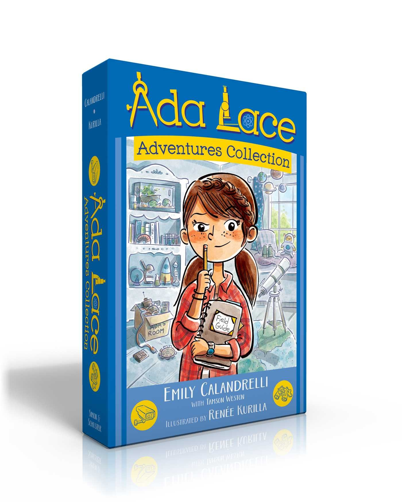Ada Lace Adventures Collection: Ada Lace on the Case; Ada Lace Sees Red; Ada Lace Take Me to Your Leader; Ada Lace and the Impossible Mission (An Ada Lace Adventure)