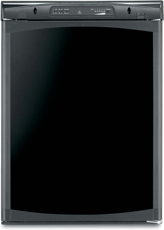 4 Cubic Feet Dometic RM2454RB1F Black RM2454RB Americana Single Door Refrigerator-3-Way