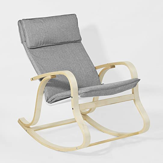 Promotion 15% SoBuy FST15 DG Rocking Chair Fauteuil  bascule