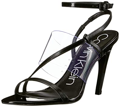 d08d888fc13 Amazon.com: Calvin Klein Women's Giorgio Heeled Sandal: Shoes