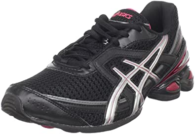 ASICS Women's Gel-Frantic 6 Running Shoe,Black/Silver/Bright Rose,