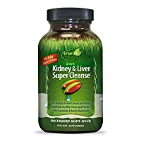 Irwin Naturals 2-in-1 Kidney + Liver Super Cleanse 10 Day Detox with Milk Thistle...