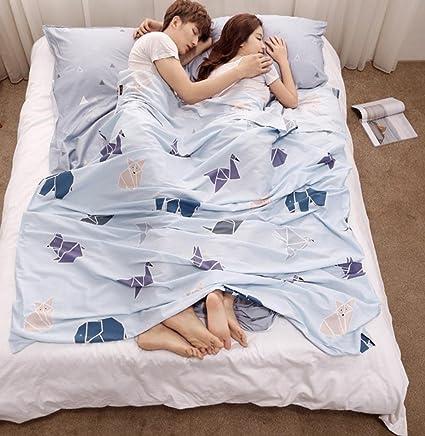 Saco de dormir sucio para viajar Ropa de cama portátil de ...