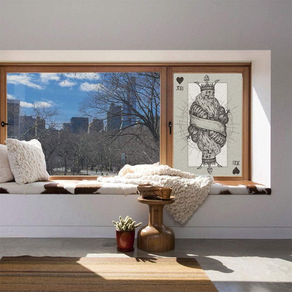 YOLIYANA Vinilo decorativo esmerilado de privacidad para ventana ...