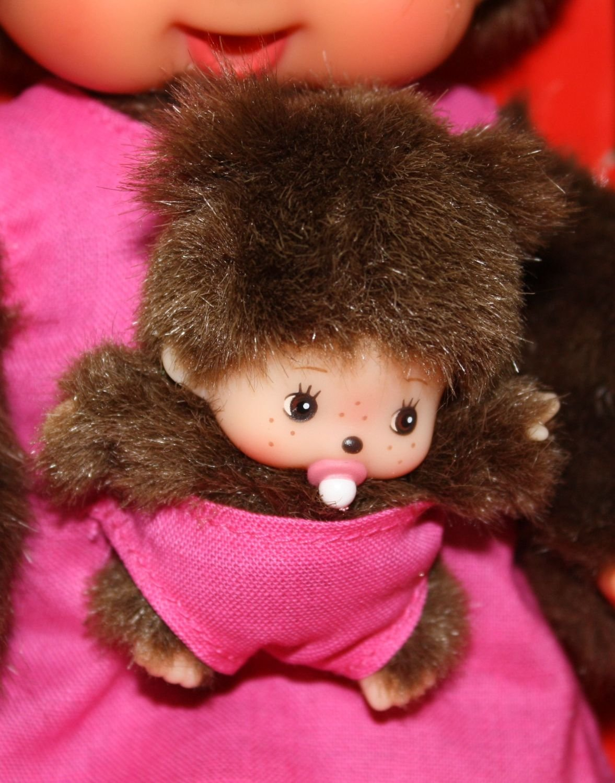 Pink Monchhichi 20cm Mothercare
