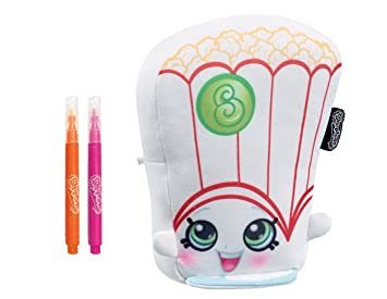 Inkoos Poppy Popcorn Color N Go Shopkins Craft Kit