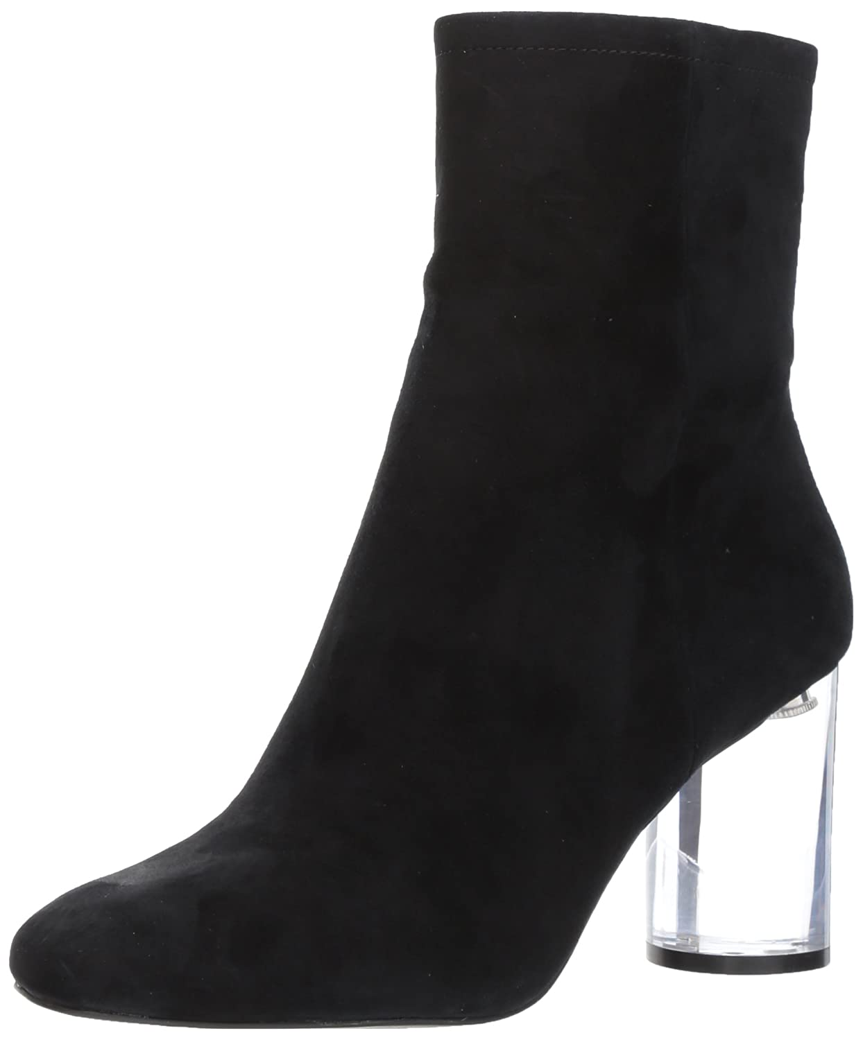 Jessica Simpson Women's Merta Fashion Boot B0728JZ3CQ 7.5 B(M) US|Black Suede