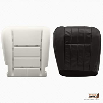 03 04 Ford F250 King Ranch Passenger Side Bottom Replacement Leather Seat Cover