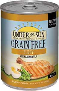 Canidae Under The Sun Grain Free Puppy Wet Food Chicken Formula, 13 Oz (12-Pack)