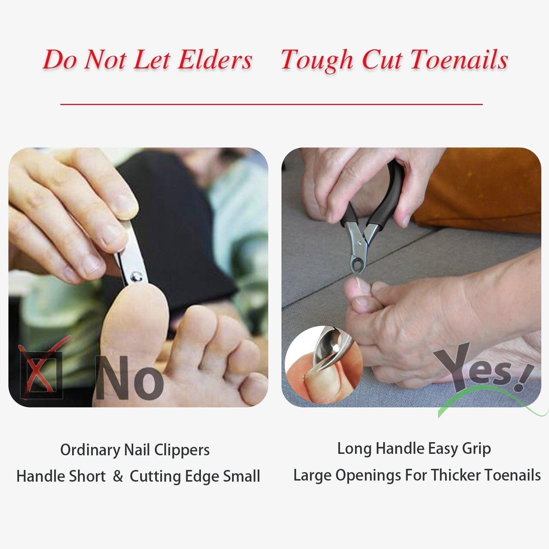 Fussnagelzange für ältere, verwendet für dicke Zehennägel 、 Pilze ...
