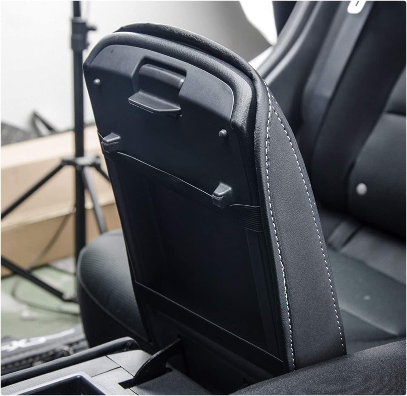 Wei/ß RUIYA CX-5 Mittelkonsole Auflagebezug Kundenspezifische Armlehne Box Soft Pad Protector