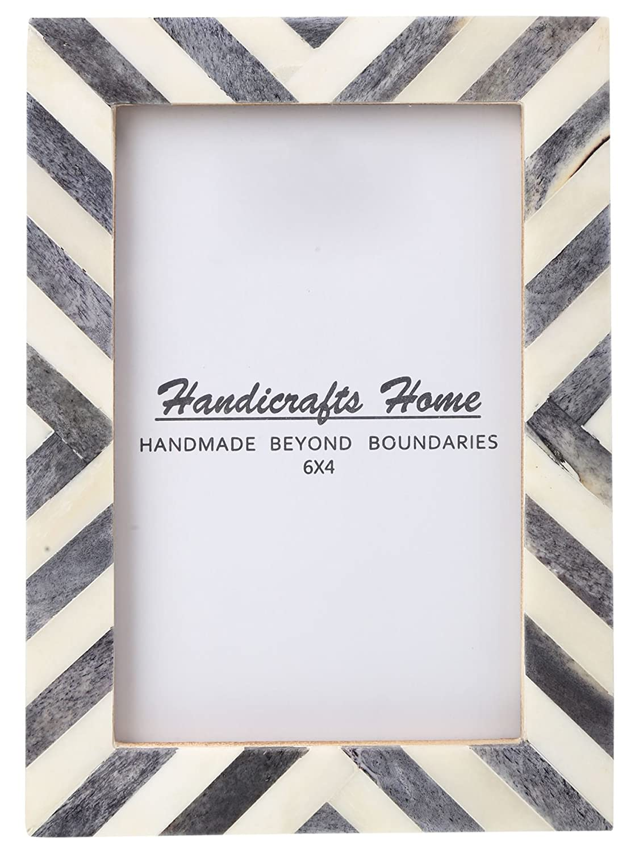 Amazon Com Handicrafts Home 4x6 Picture Photo Frame Chevron
