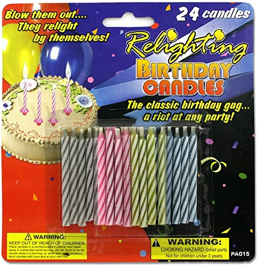 Amazon.com: Candle Shop – Velas de cumpleaños mágicas: Home ...