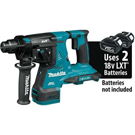 Amazon.com: Makita XRH08Z 18 V X2 LXT iones de litio (36 V ...