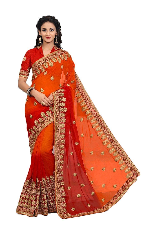 Fanta Padding daindiashopUSA Indian Sarees for Women Partywear Ethnic Traditional Designer Sari
