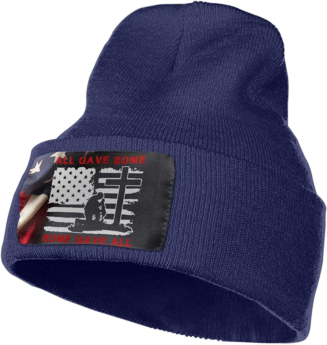 All Gave Some Some Gave All Veterans Beanie Cap Hat Men /& Women Knitting Hats Stretchy /& Soft Beanie