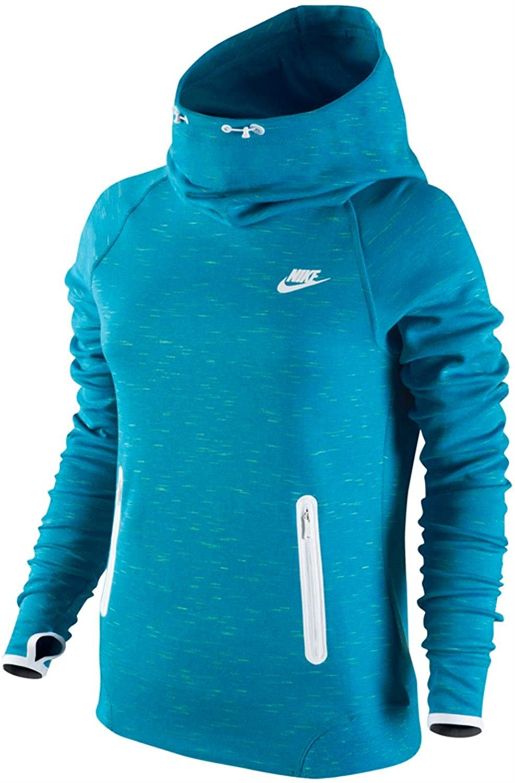 Amazon.com: Nike Womens Training Tech Fleece Blue Volt 642663-413 (X-Small): Clothing