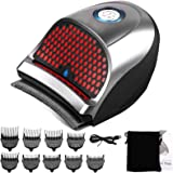 Hair Clippers for Men, Cordless Electric Hair Trimmer Professional Hair Cutting Machine Shortcut Self Grooming Haircut Kit wi