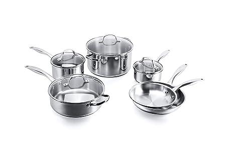 Amazon.com: Stovetop Pro - Batería de cocina de acero ...