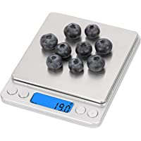 Emoly Food Scale,Digital Kitchen Scale, Mini Size Food Scale 500g/ 0.01g - High Precision Jewelry Weight Scale with…