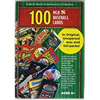 Superior Sports Investments LLC 100 MLB Baseball Cards in Original Unopened Wax and… photo