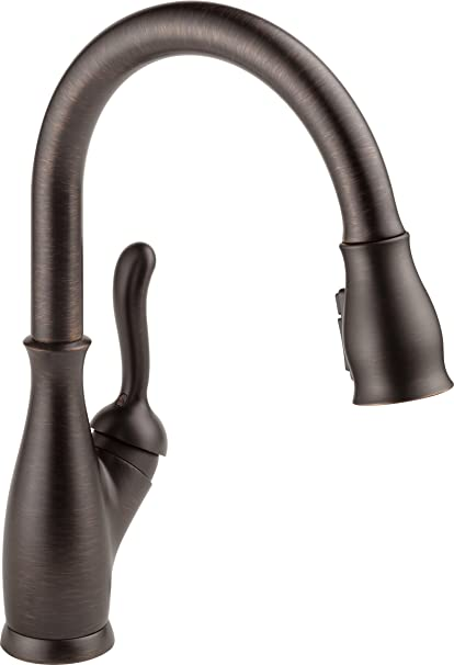 Superbe Delta Leland 9178 RB DST Single Handle Pull Down Kitchen Faucet With  ShieldSpray