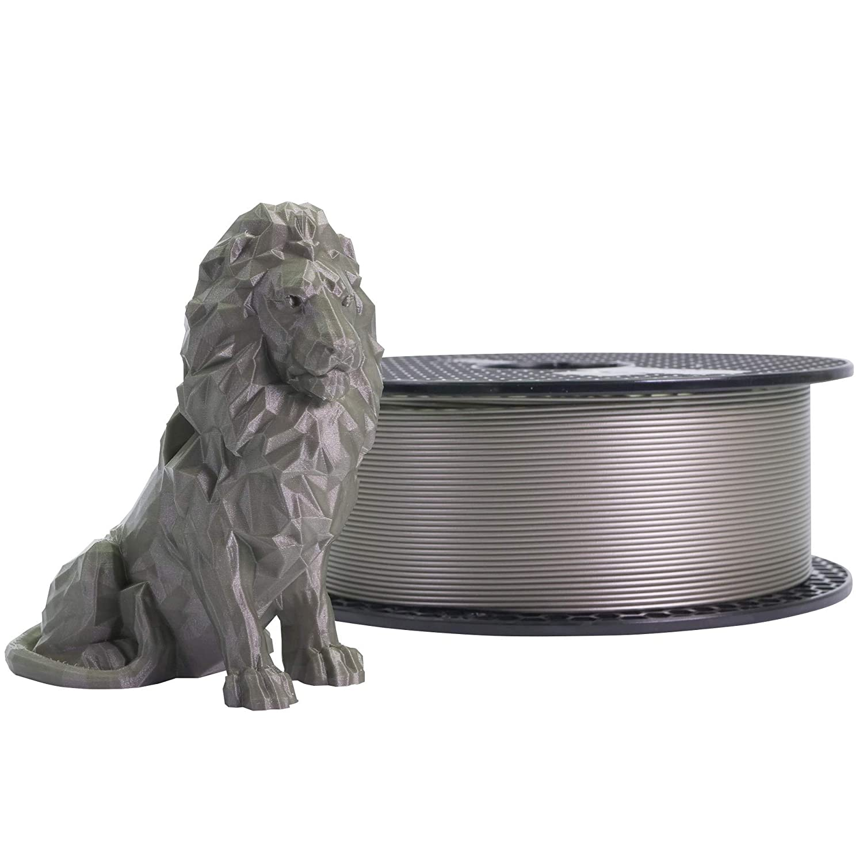 Prusament Pearl Mouse, filamento PLA 1,75 mm, bobina de 1 kg (2.2 ...
