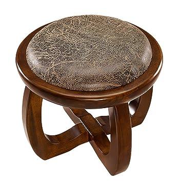 Fabulous Amazon Com Oofay Qzy Basswood Bench Stool Small Circular Frankydiablos Diy Chair Ideas Frankydiabloscom