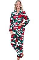 Alexander Del Rossa Womens Flannel Pajamas, Long Winter Cotton PJ Set