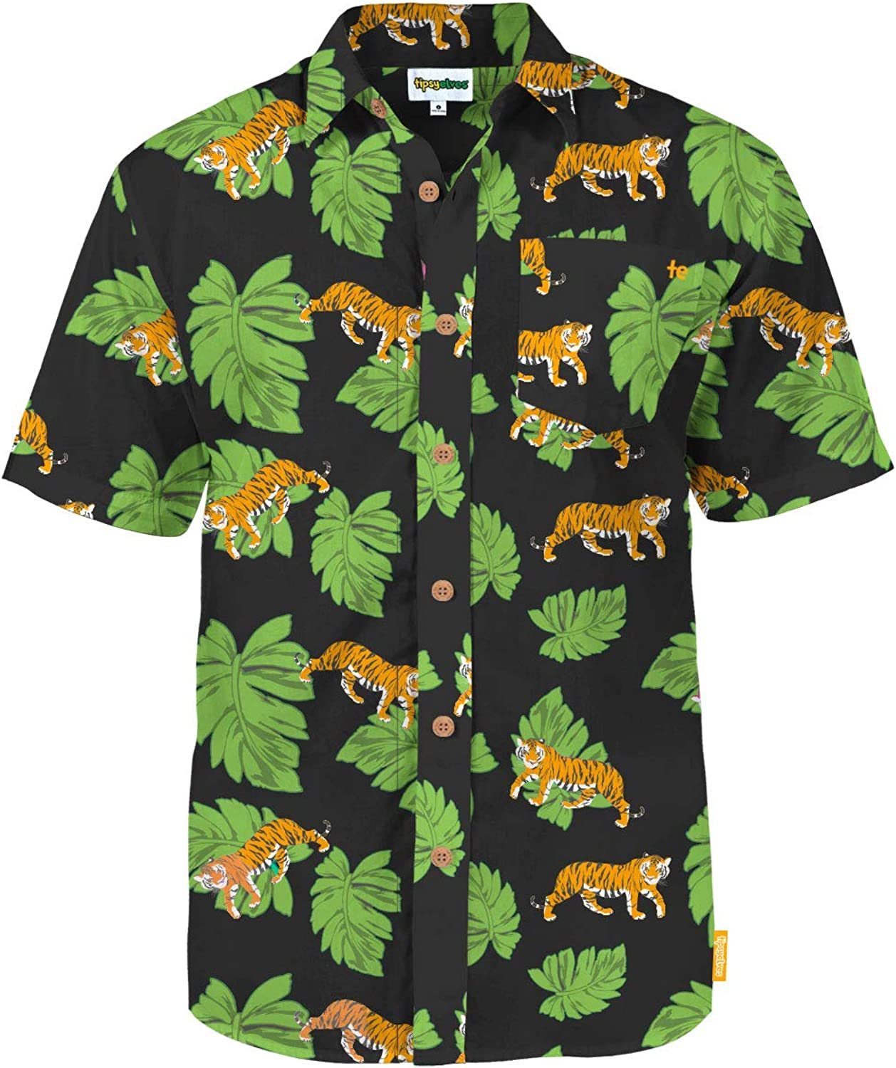 Tipsy Elves Men's Summer Button Down Shirts - Summer Button Down Shirts for Men