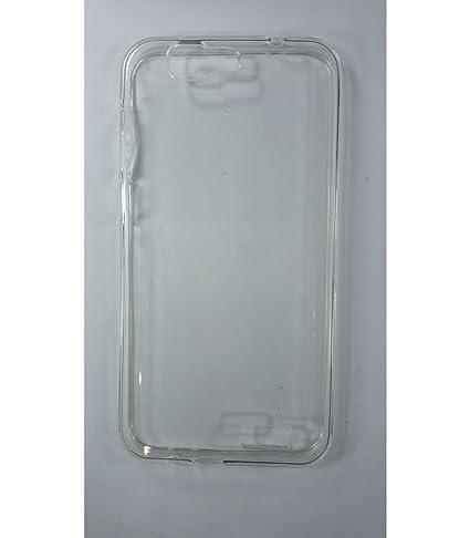 Funda de gel TPU carcasa protectora silicona para Huawei Ascend G7 Transparente