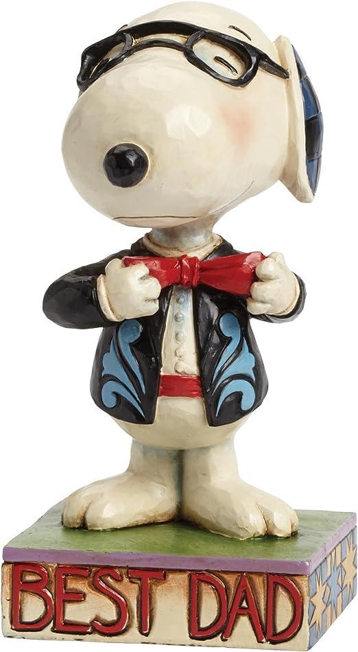 Peanuts Jim Shore - Figura de Snoopy con Corbata: Amazon.es: Hogar