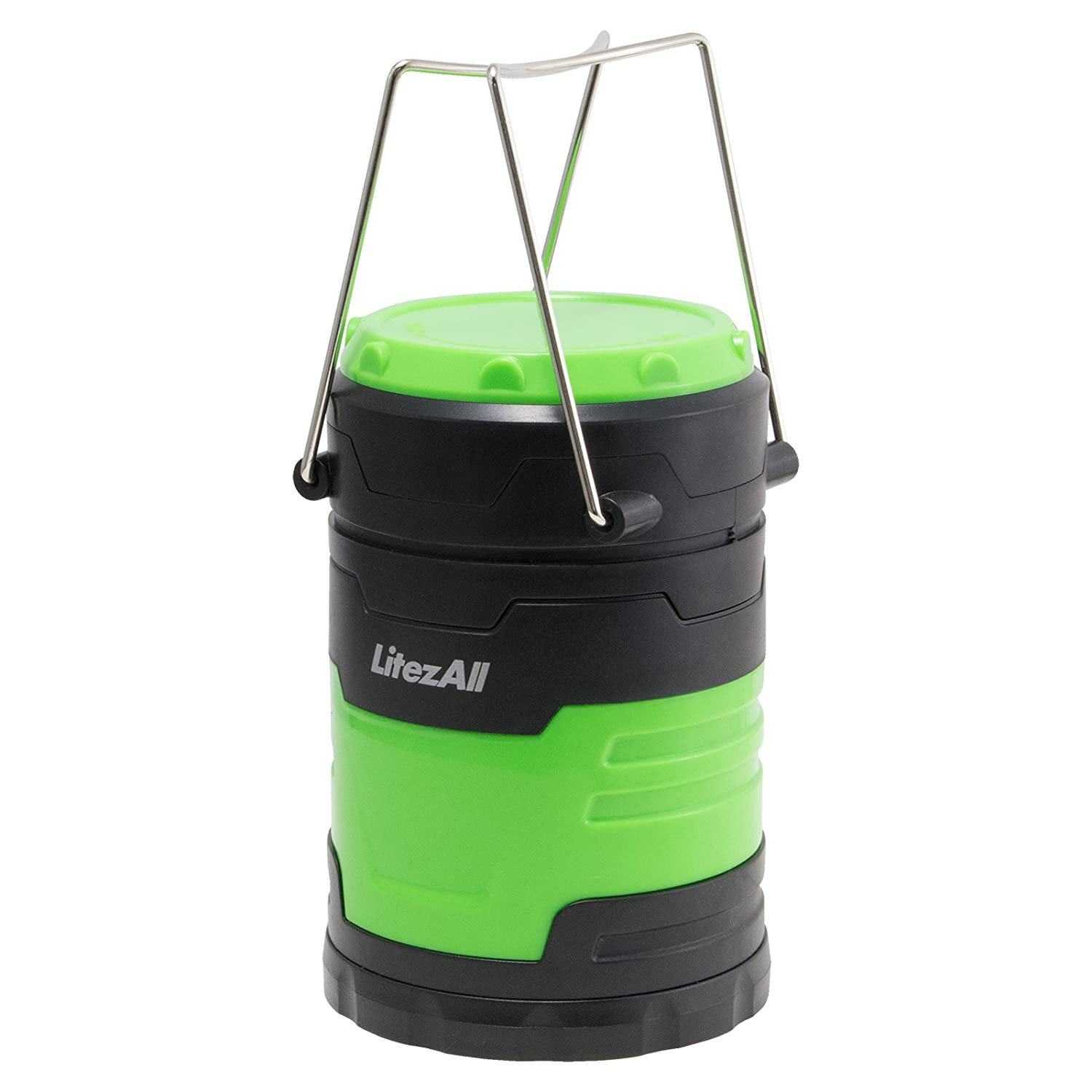 Cabin Workshops LitezAll 200 Lumens EASY PULL OPEN COB LED Lantern//FOR Camping or Outbuildings Home Green 100/% Mfg Guarantee