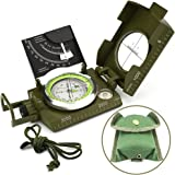 Compass, Waterproof Hiking Military Navigation Compass with Glow in the Dark,Perfect for Camping Hiking and Other Outdoor Activities