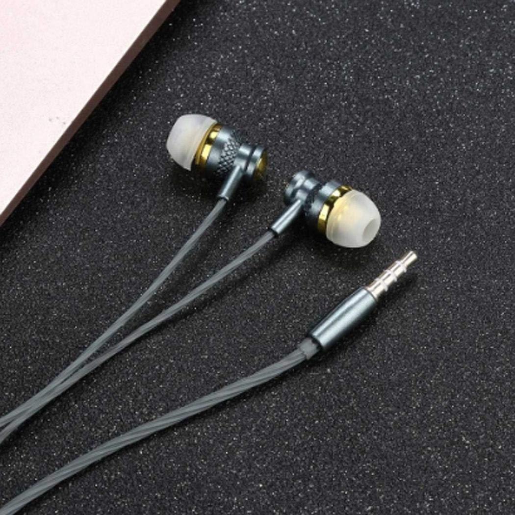 Fenido Cuffie Auricolari Hi-Fi con Cavo e Auricolare con Microfono Cuffie Bluetooth
