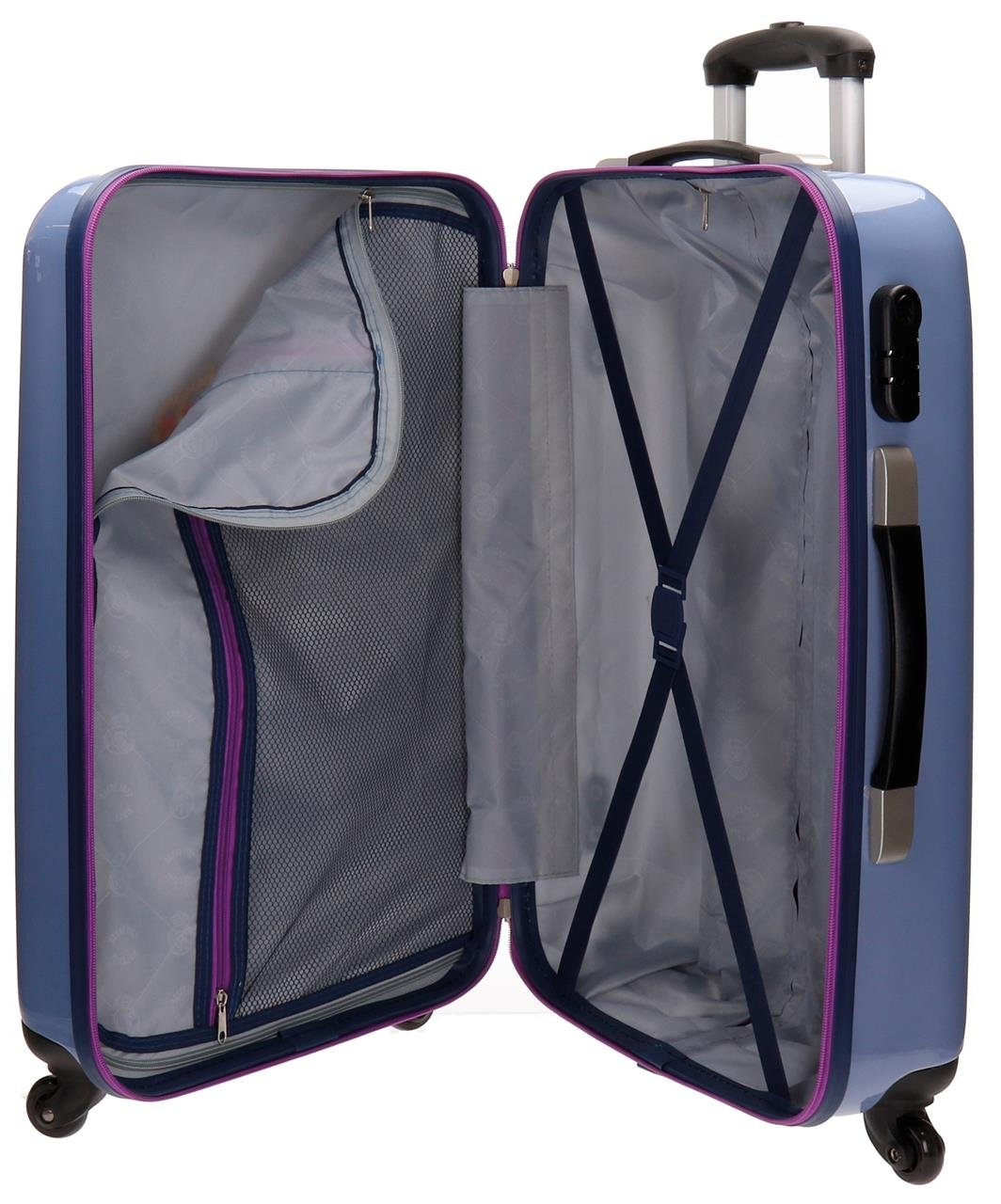 Trolley Abs 55cm.4r.one Color One Club Azul 1mbrAOq7G