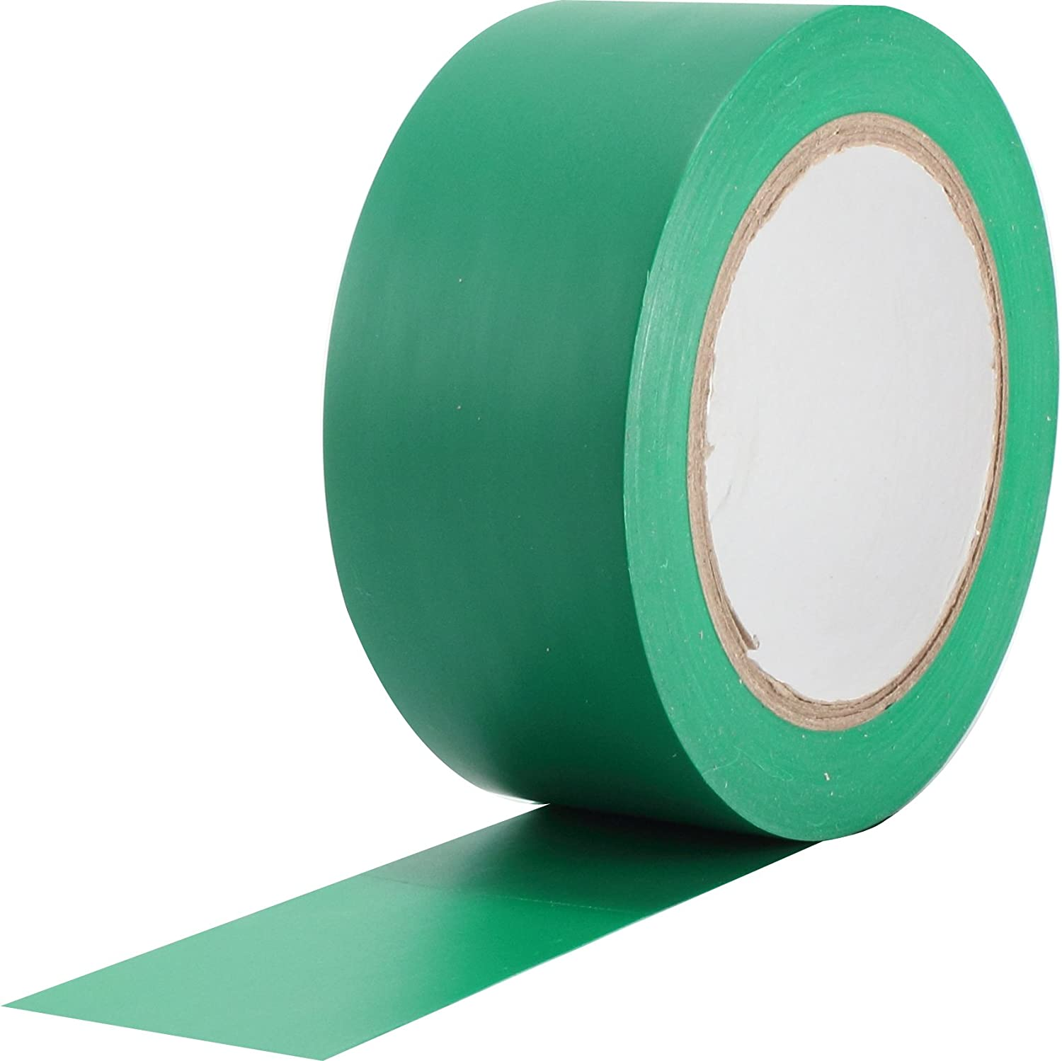ProTapes Pro 50 Premium Vinyl Safety Marking and Dance Floor Splicing Tape, 6 Mils Thick, 36 Yds Length X 3' Width, Green (Pack of 1) 36 Yds Length X 3 Width ProTapes & Specialties 50-6-3x36-GR