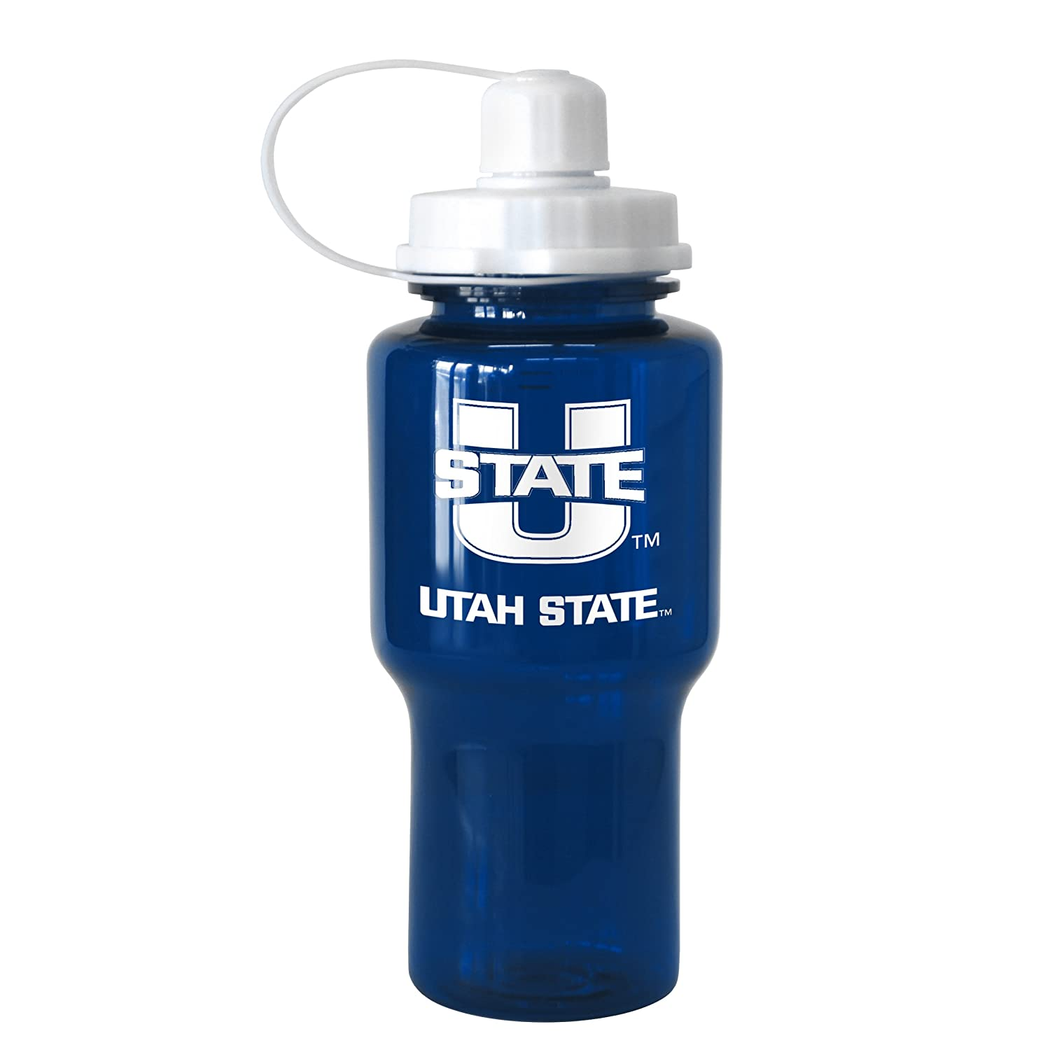 NCAA Utah State Aggies Tritan Travel Mate Water Bottle 24-Ounce Boelter Brands 282648