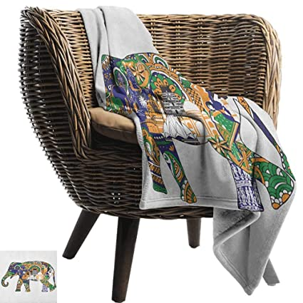 Miraculous Amazon Com Andytours Custom Sofa Bed Throw Blanket Elephant Gmtry Best Dining Table And Chair Ideas Images Gmtryco