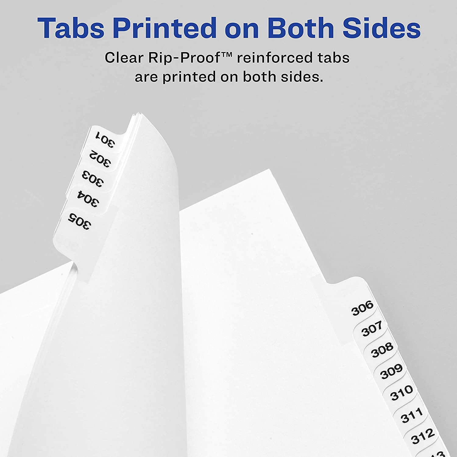 Avery Individual Legal Exhibit Dividers, Avery Style, 2, Side Tab, 8.5 x 11 inches, Pack of 25 (11912), White : Binder Index Dividers : Office Products