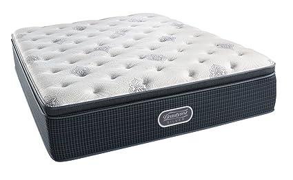 beautyrest mattress pillow top. Simmons Beautyrest Silver Plush Pillow Top Mattress, Air Cool Gel Memory Foam, Pocketed Coil Mattress E
