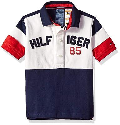 Tommy Hilfiger Adaptive Niños 7183952 Manga Corta Camisa Polo ...