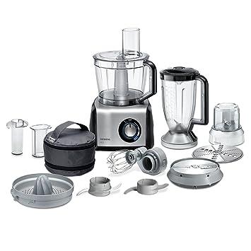 Amazon.de: Siemens MK860FQ1 FQ.1 Kompakt-Küchenmaschine, Edelstahl ...