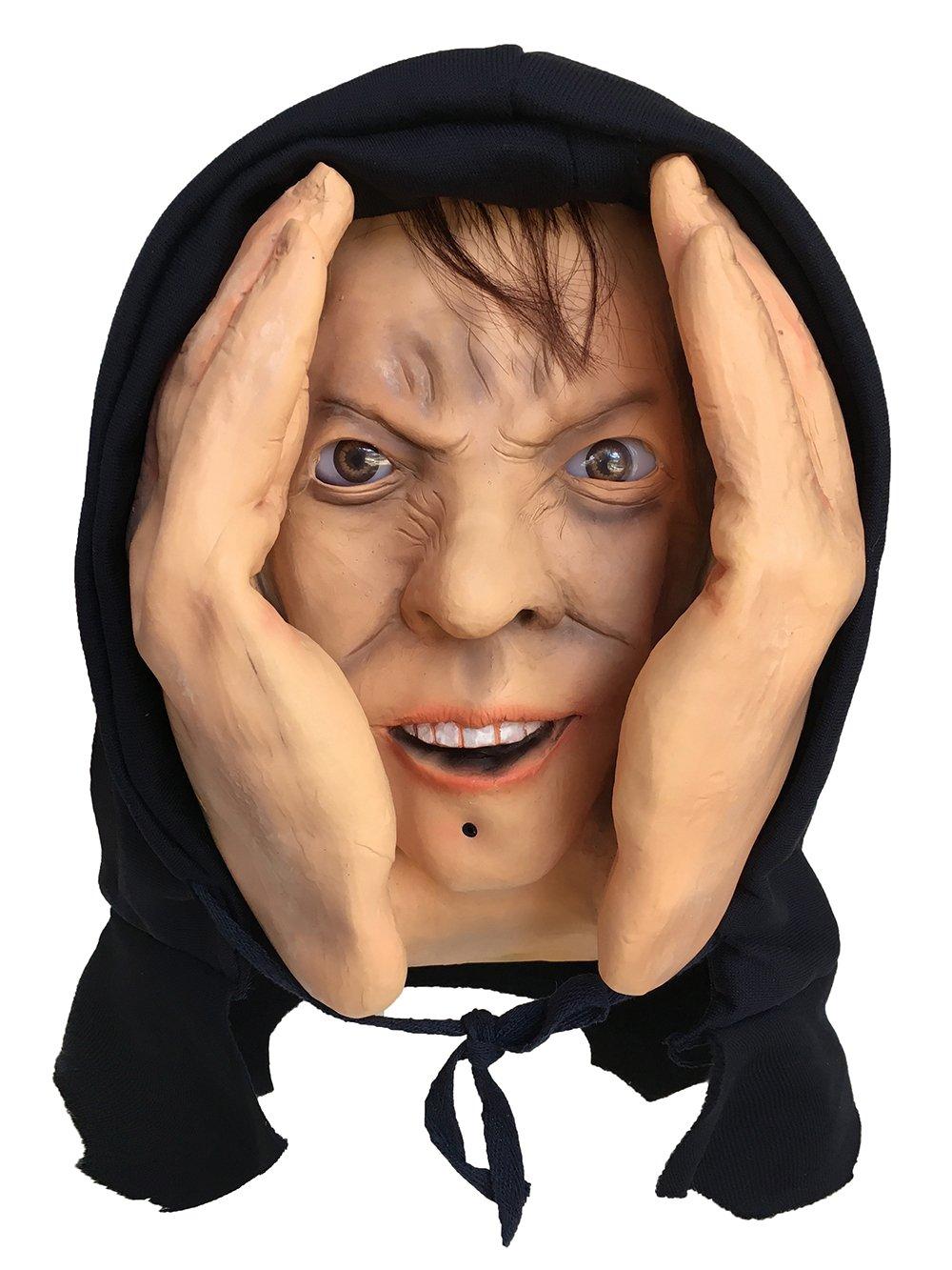 Motion Sensor Animated Eyes Scary Peeper Creeper Window Prop - Halloween Haunted House Prank Decoration Display Window Cling