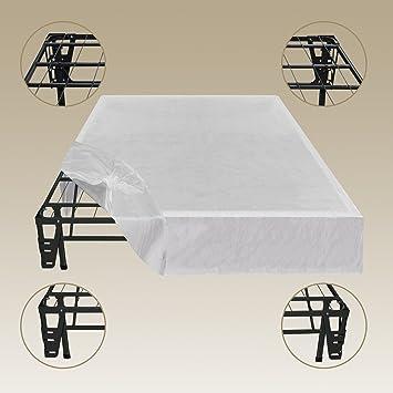 sleep master platform metal bed framefoundation set no box spring needed