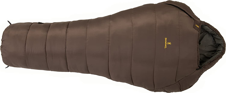 Browning Camping Kenai 20 Degree Wide Mummy Sleeping Bag