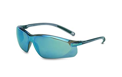 9aaa21fe1be UVEX by Honeywell A703 Series Safety Eyewear Blue Mirror Lens with ...