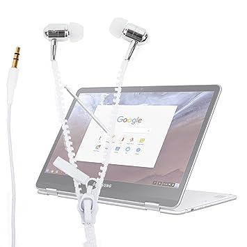 DURAGADGET Innovadores Auriculares con Cremallera para ...